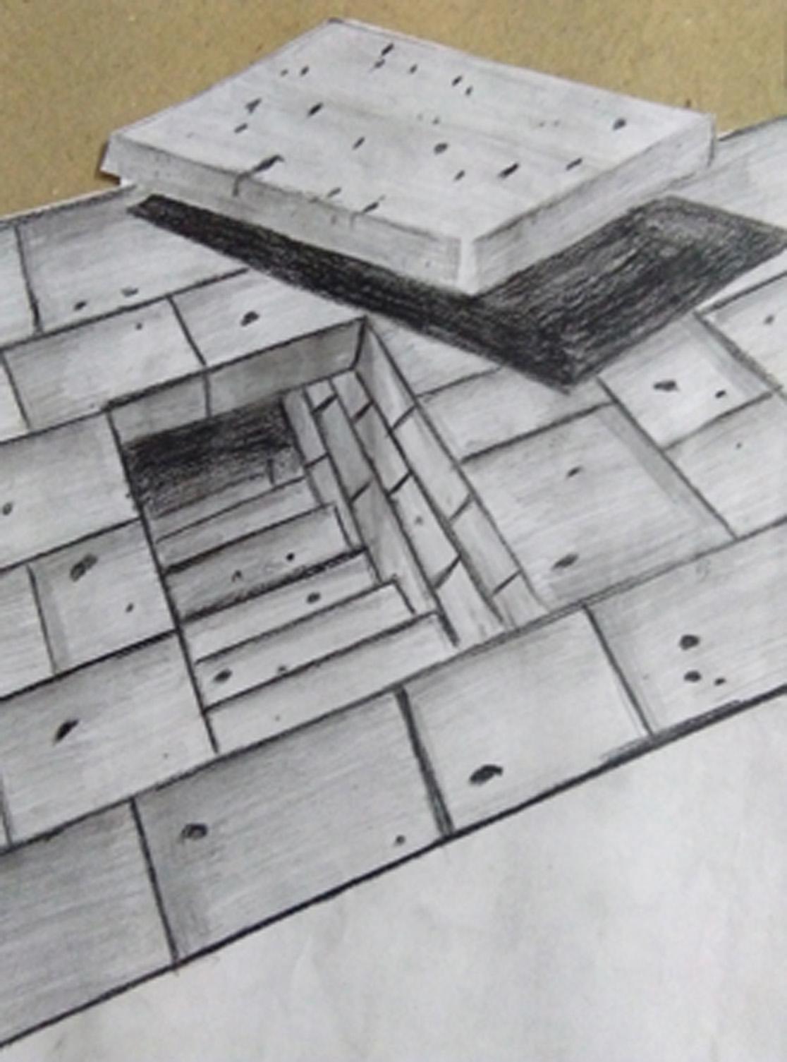 Three Dimensional Steps